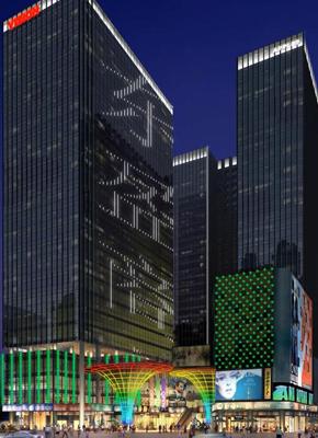 【湖南】长沙东盈商业广场楼体和记官方网页