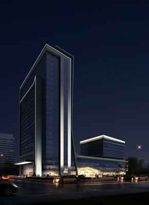 【湖南】交通勘察设计院设计大楼bob官网登陆工程