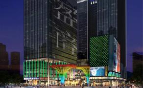 【湖南】长沙东盈商业广场楼体亮化