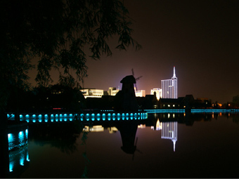 【山东】潍坊寿光弥河公园景观和记官方网页