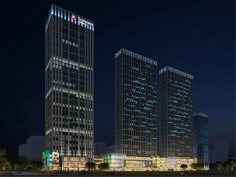 【湖南】启迪协信中心一期项目泛光照明工程