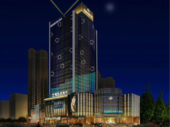 【广西】桂林戴斯大酒店外墙和记官方网页工程