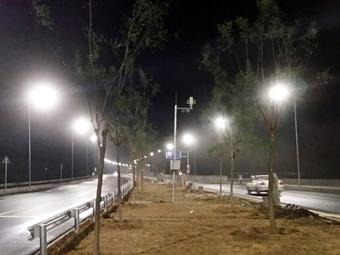 【北京】怀长路联络线路灯改造工程