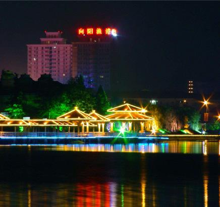 公园夜景照明