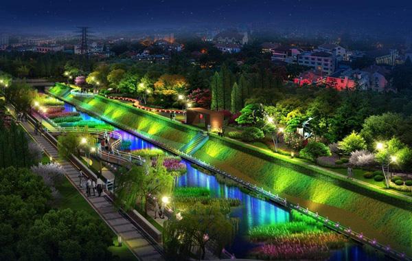 河道亮化工程