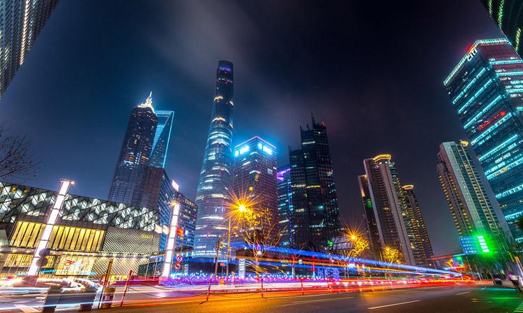 建筑外墙夜景照明