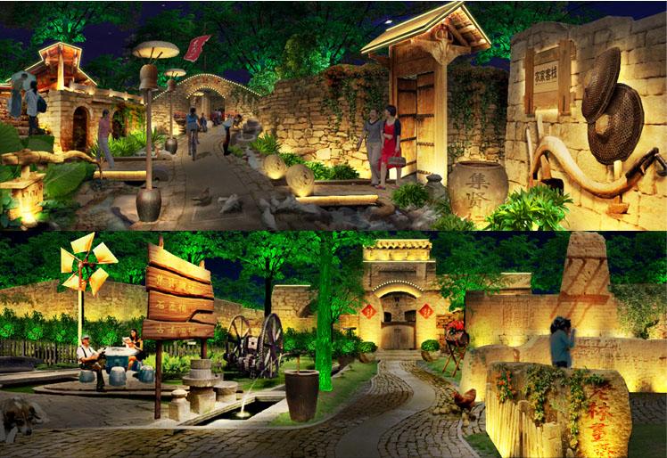 旅游区景观和记官方网页设计