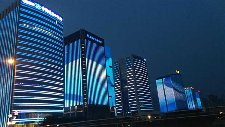 城市建筑照明
